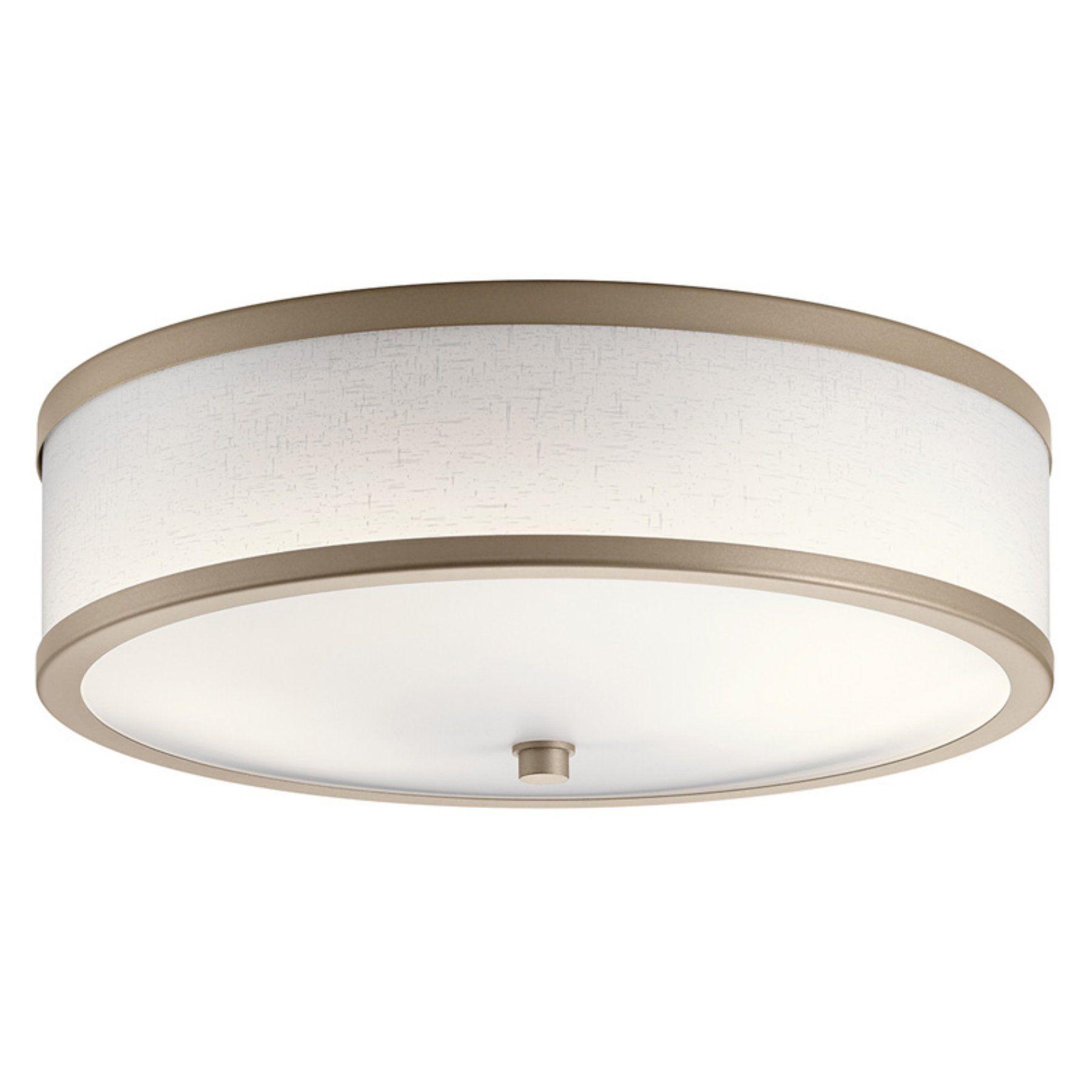 Hallway flush mount lighting  Kichler  Flush Mount Light  CP  Flush mount lighting and