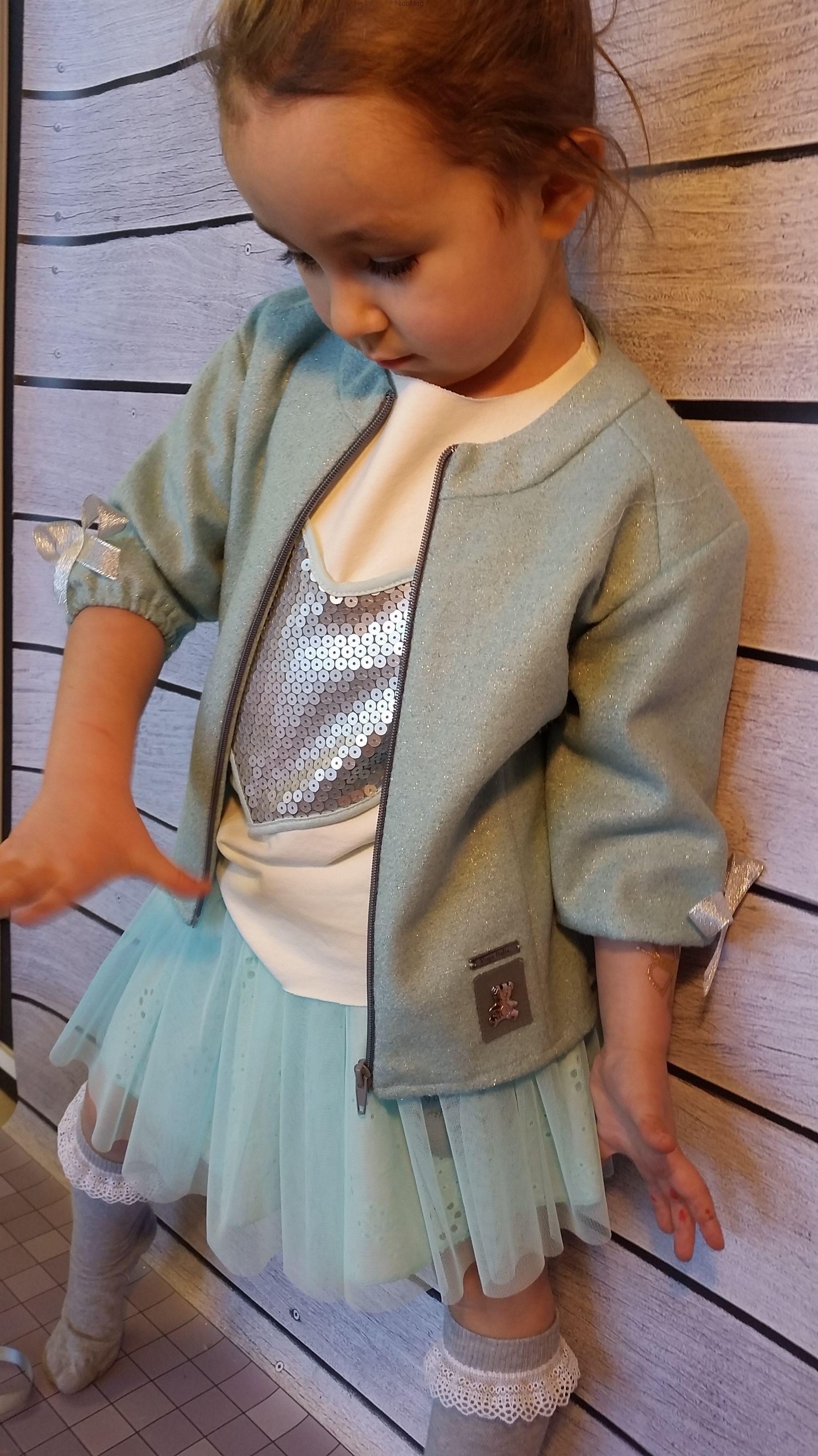 Bluza Marynarka Akwamaryn Dziewczynka