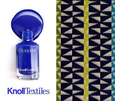 Blueprint a knolltextiles nail color is inspired by our tower grid blueprint a knolltextiles nail color is inspired by our tower grid upholstery in color blueprint and by dazzling blue a pantone color trend for malvernweather Image collections