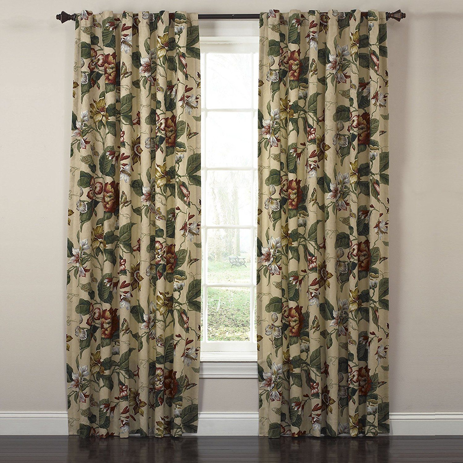 Waverly Laurel Springs Lined Panel Pair Curtain100 Inch Wide X 84 Long New And Awesome Product Awaits You Read It Now This Is An Amazon Affiliate