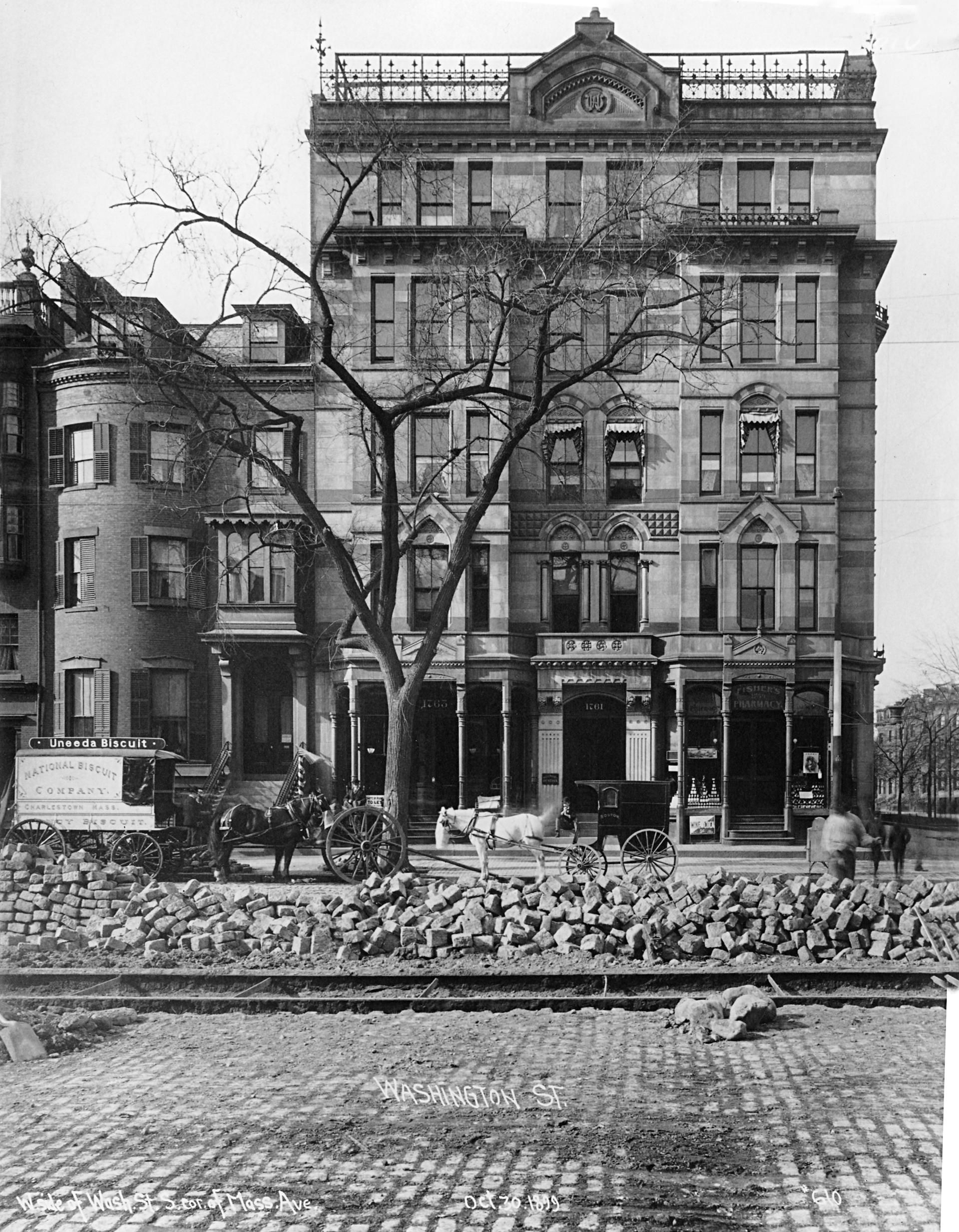 A Brief History Of The Hotel Alexandra In Boston S South