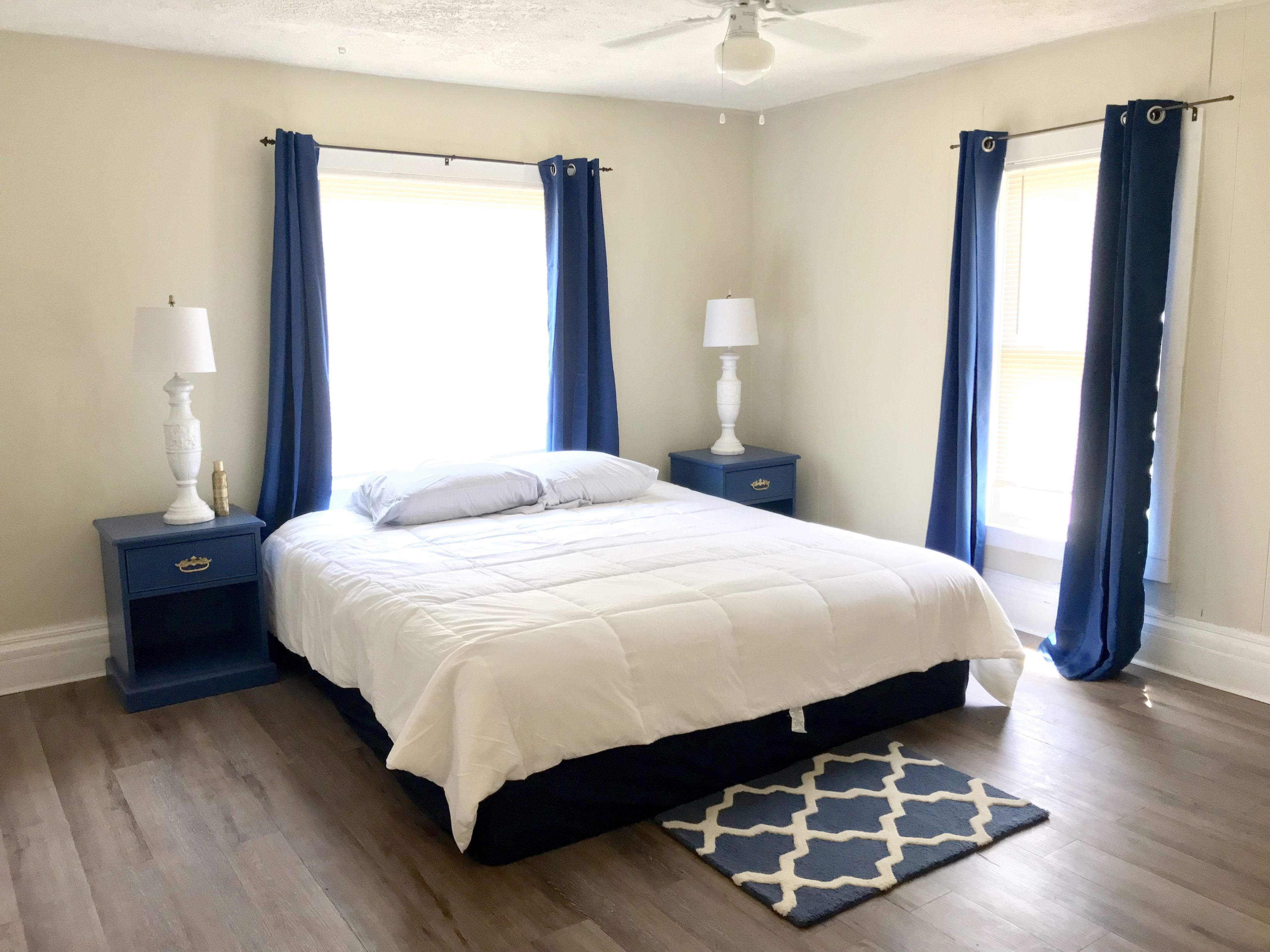 Royal Blue And Gold Bedroom Decor Blue Bedroom Decor Blue And