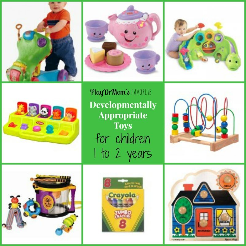 Developmentally Appropriate Toys for children 1 to 2 years