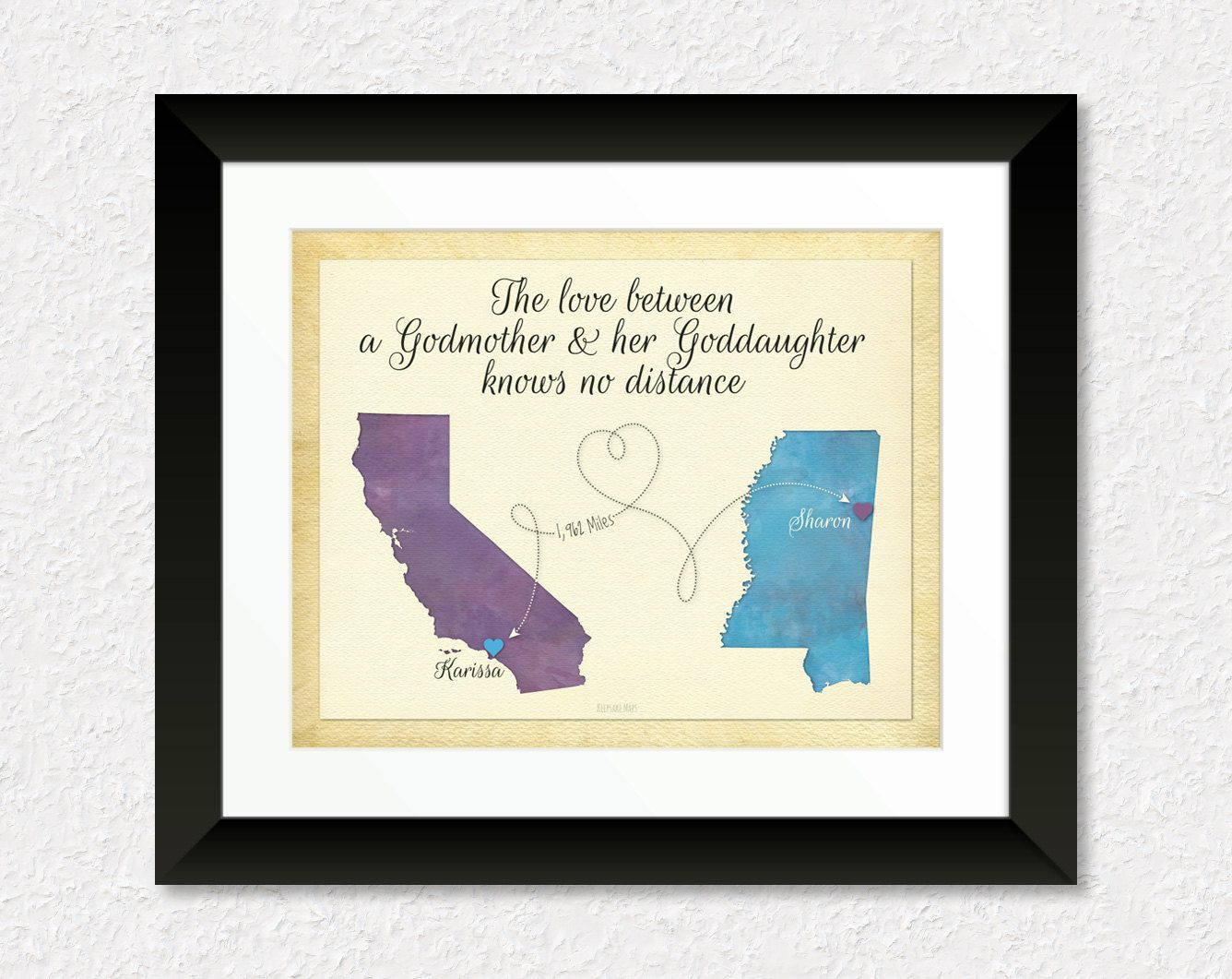 Godmother Gift Goddaughter Gift Long Distance Gift: Godmother Gift, Goddaughter Gift, Long Distance Gift