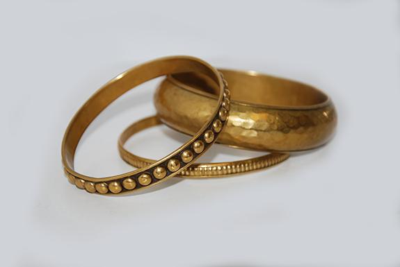 Bracelets réalisés avec l'imprimante M.I.H Elite
