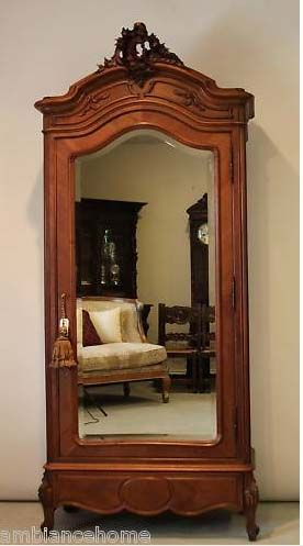 Charmant Ravishing Armoire Antique French Louis XV Carved For Sale | Antiques.com |  Classifieds