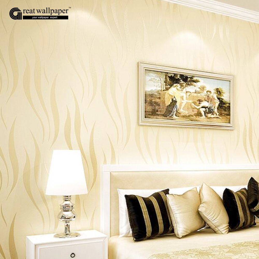 Modern luxury 3D wallpaper damask wall paper roll for living room ...