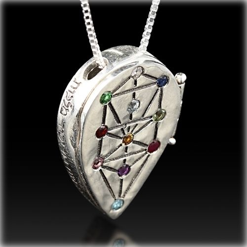 Tree Of Life Kabbalah Necklace Kabbalah Jewelry By Haari Silver Earrings Outfit Kabbalah Pagan Jewelry Different branches of the kabbalistic tree are the different physical and spiritual levels of our existence. tree of life kabbalah necklace
