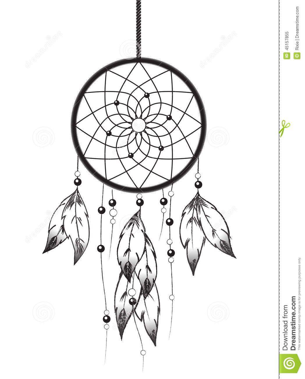 Afficher l 39 image d 39 origine dreamcatchers pinterest for Acchiappasogni disegno