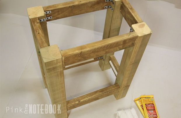 building a bathroom vanity. Bathroom Update: How To Build A Pottery Barn Inspired Vanity (Abbott Console) | Cottage Design Ideas ! Pinterest Inspired, Consoles And Building