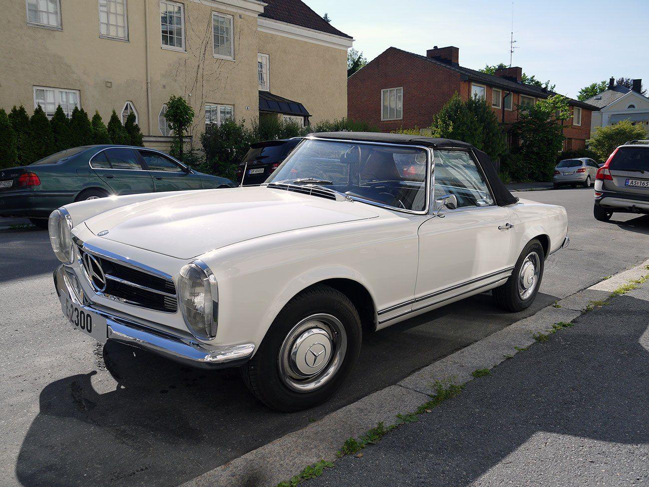 1964 Mercedes-Benz 230Sl – Old Norway