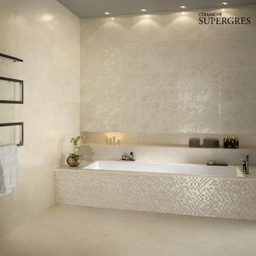 beige white tub face tilese matte finish on the floors, and I