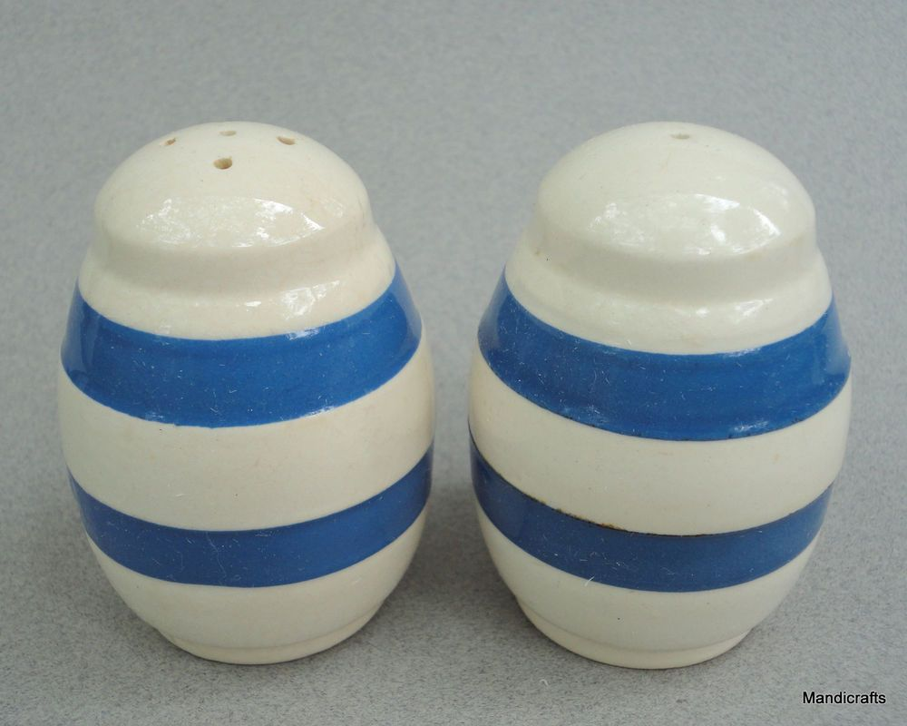 Vintage Ceramic Collectible Dining Serving Entertaining Fiesta Salt and Pepper with Stoppers