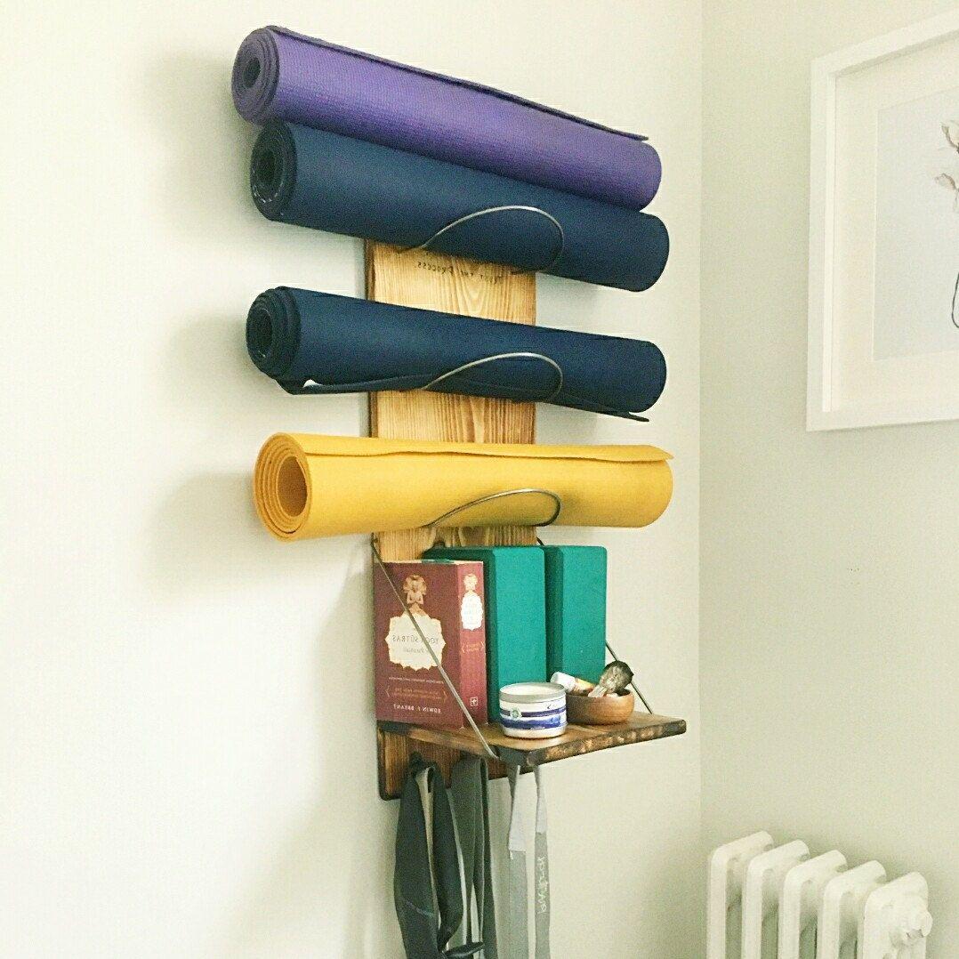 storewall yoga weights oasis mats pin kits equipment storage mat kit and fitness home free