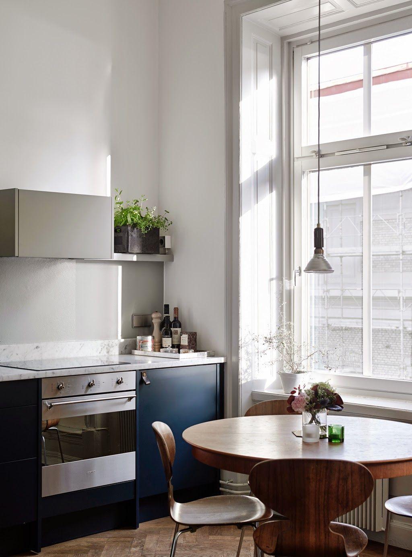 Küche Designs Eine skandinavisch inspirierte Küche im schwedischen ...
