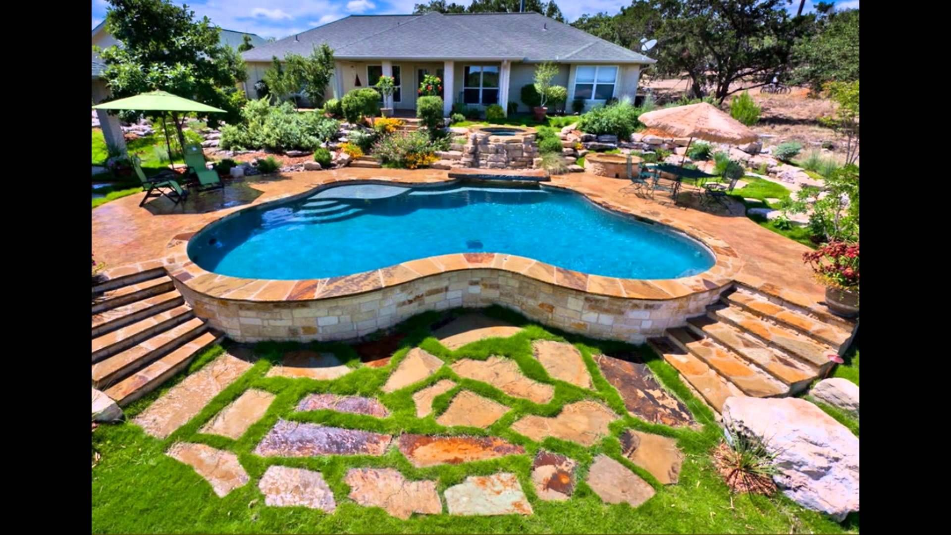 Image Result For Above Ground Pool Landscape Designs