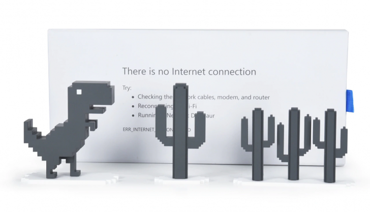 Chrome's offline dinosaur is now an actual toy you can buy ...