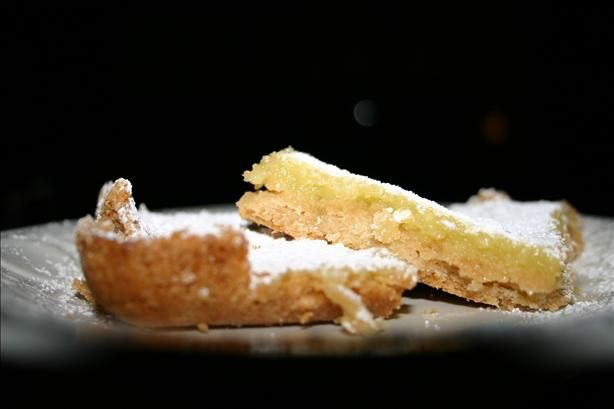 """""""Best"""" Lemon Bars - from Gourmet magazine. More tart than sweet they say. Will have to give these a try."""