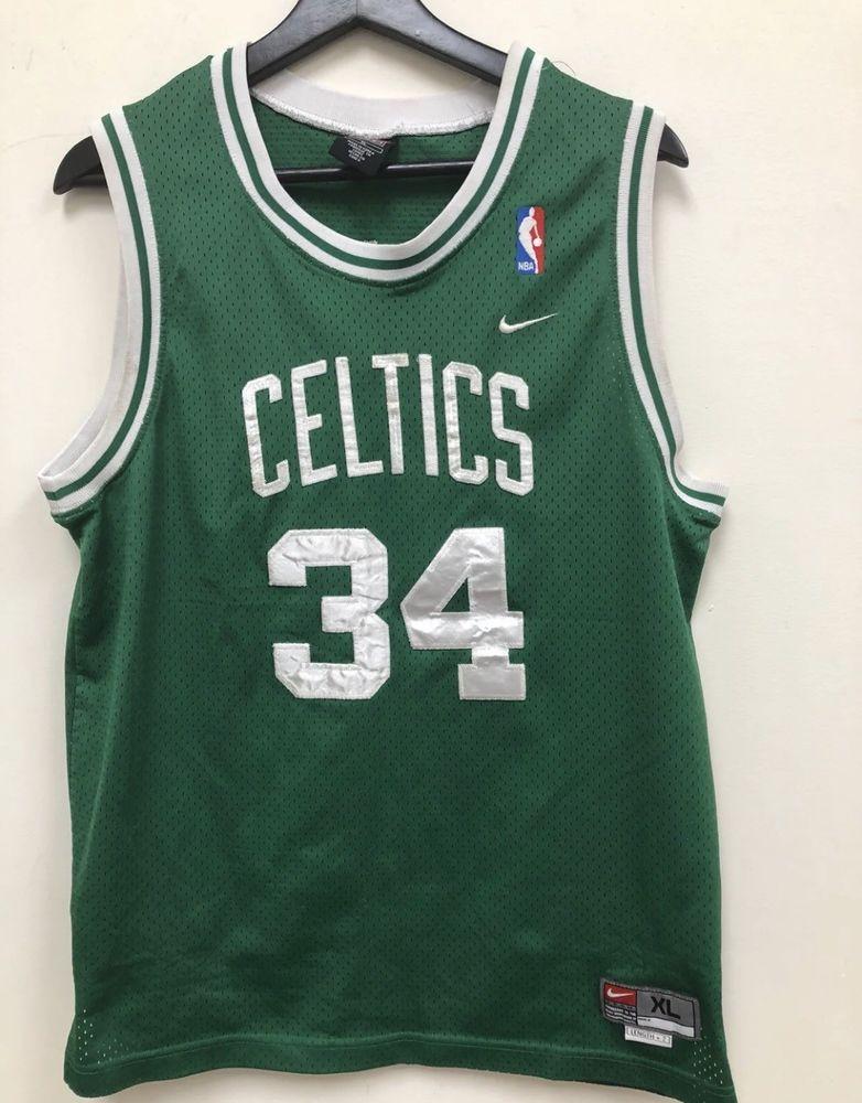 3c8602100 Nike NBA Boston Celtics Pierce Jersey Kids Size XL Free Shipping