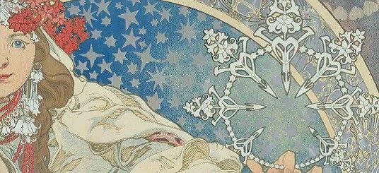 Alphonse Mucha: Inspirations of Art Nouveau