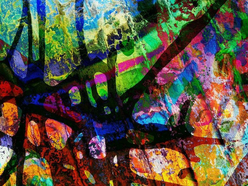abstract kunstwerk