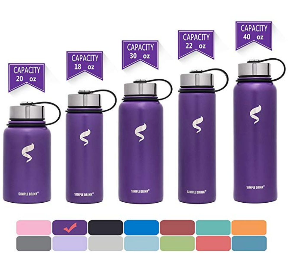 Amazon Stainless Steel Insulated Water Bottle Just 4.55