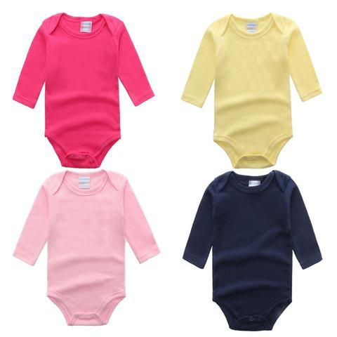 652f3570907 Baby Clothes Newborn 2018 Cotton Long Sleeve Solid knit Baby Rompers Girl  Boy clothes Overalls baby onesie Baby Costume