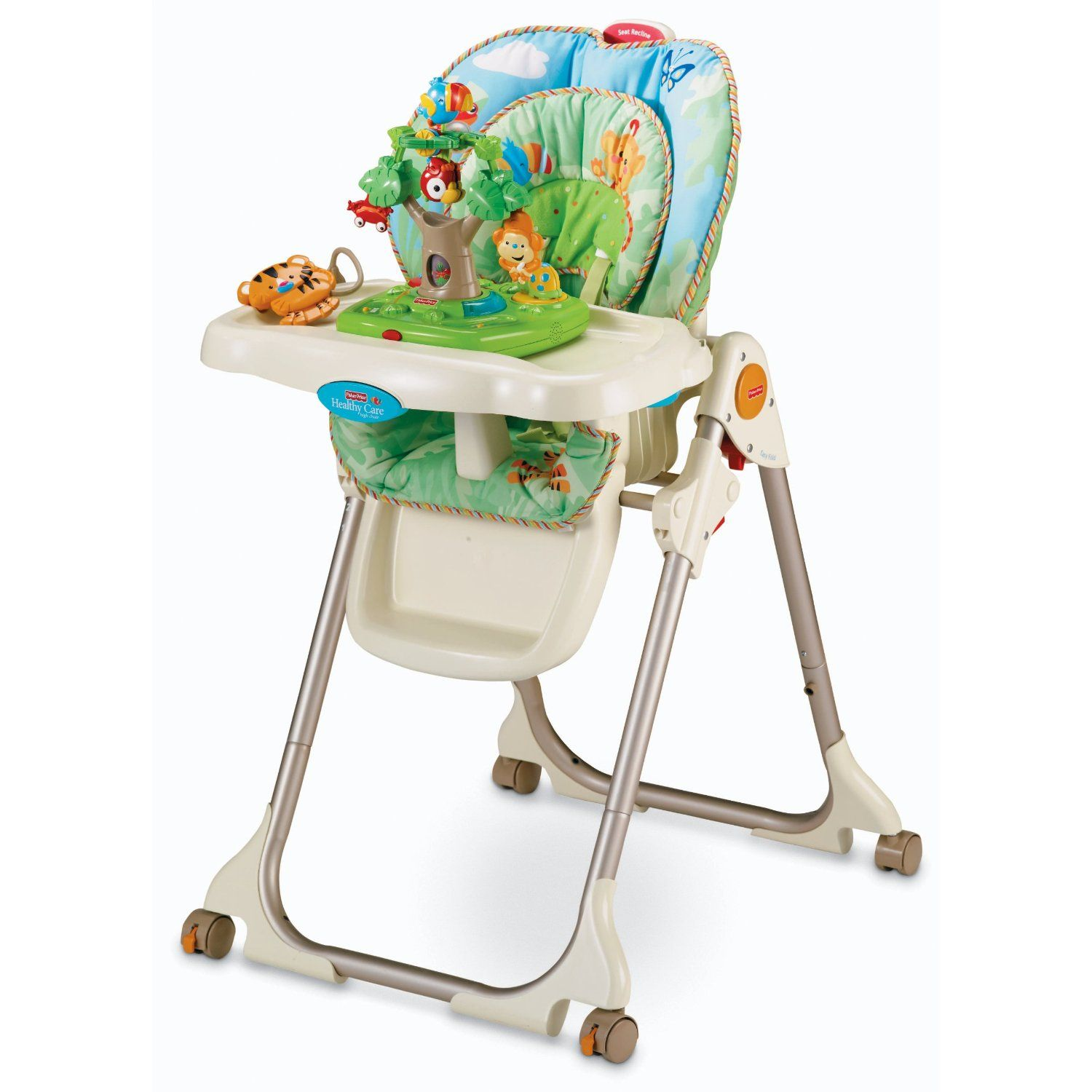 FisherPrice Rainforest High Chair (With images) High