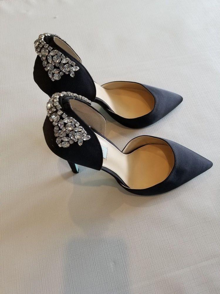 ae9bab0f320850 Betsey Johnson Womens Heels Pumps Shoes size 9 M Rhinestones  fashion   clothing  shoes  accessories  womensshoes  heels (ebay link)