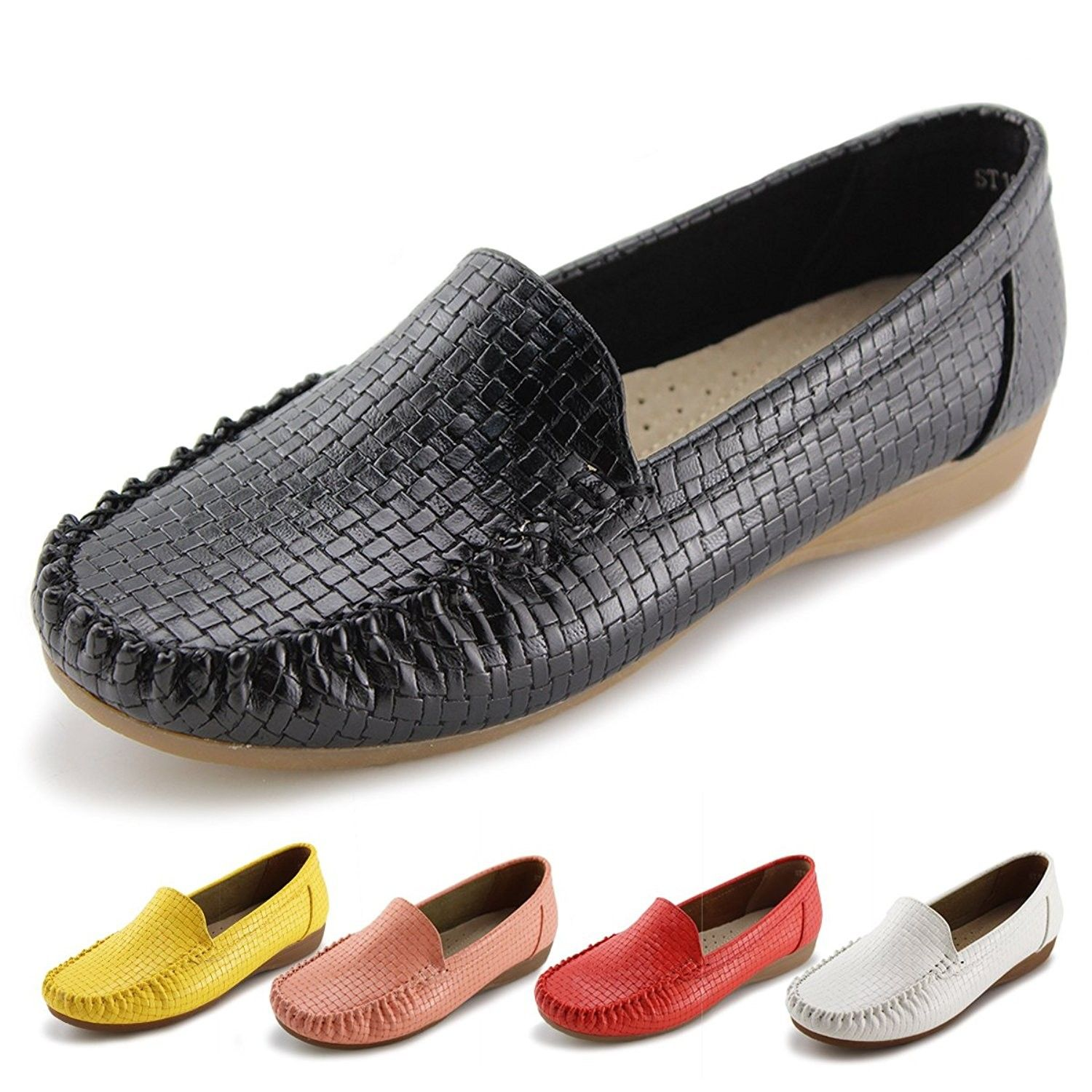 Women's Shoes, Loafers & Slip-Ons, Women's Slip-On Loafers Flat Casual