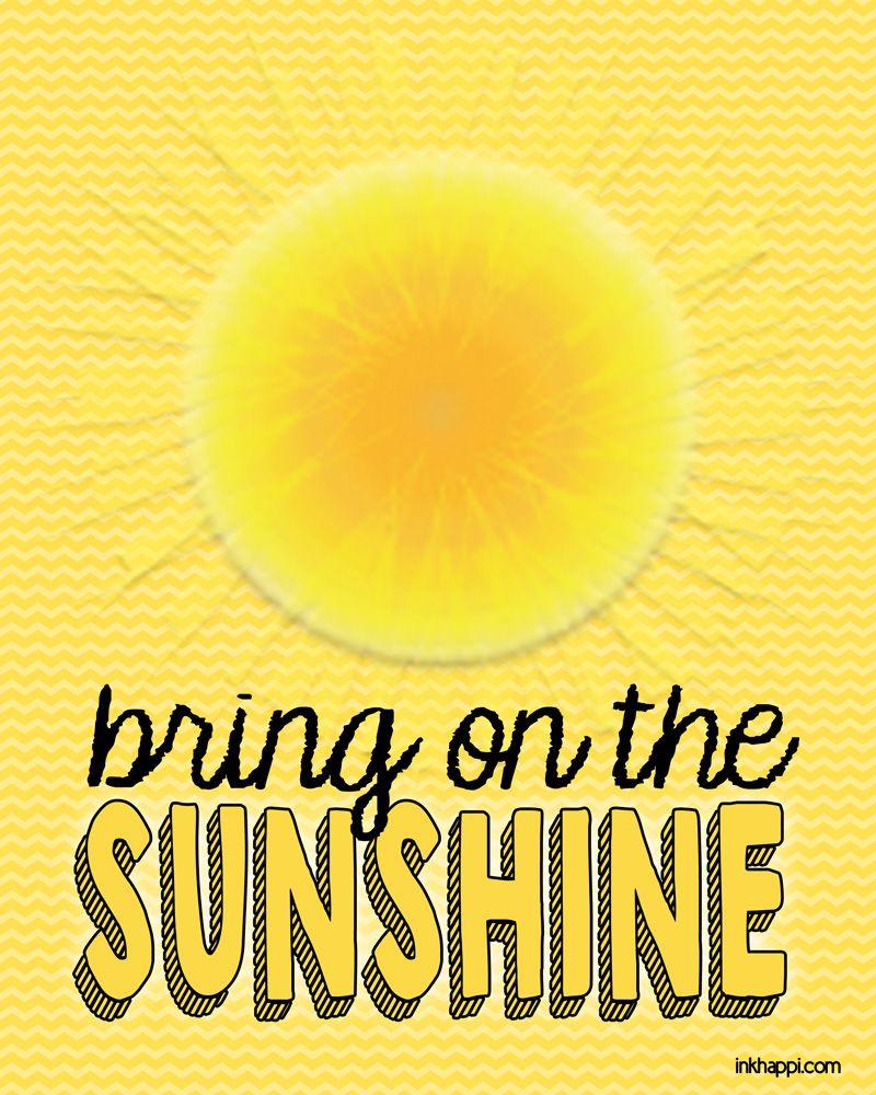 Sunshine Quotes - Google Search