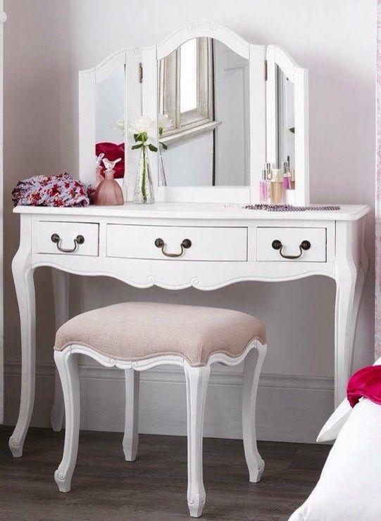 Mirror furniture repair Diy White Bedroom Furniture Shabby Chic Painted Bedroom Furniture Shabby Chic Bedrooms Shabby Pinterest Pin By สมศกด วานร On โตะเครองแปง In 2019 Shabby Chic