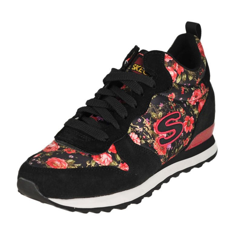 6bb92c1ffb8e Skechers Women s OG 85 Hollywood Rose Sneakers With Hidden Wedge Size 7  NWIB  Skechers  Sneaker