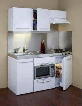 Kleine Küche, Kleine Küchen Ideen, Innenarchitektur Küche, Neue Wohnung,  Kleine Wohnung Einrichten, Erste Eigene Wohnung, Studentenwohnungen,  Maisonette, ...