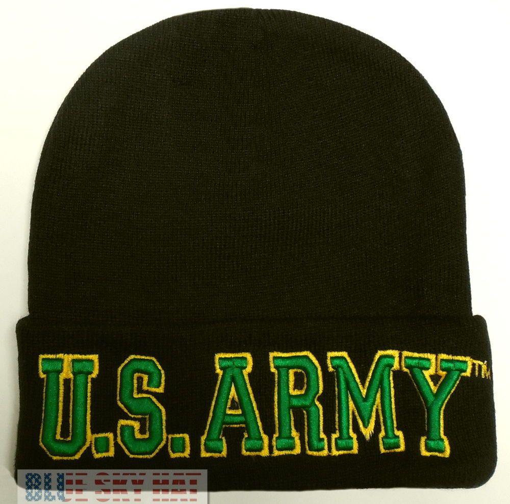 LICENSED UNITED STATES U.S. ARMY TM WINTER KNIT BEANIE