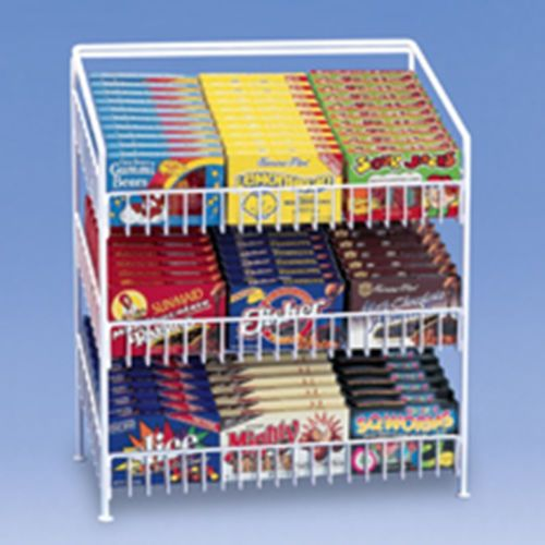 Theater Room Snack Bar: Fast Shipping Countertop Candy Display Rack 3 Shelf