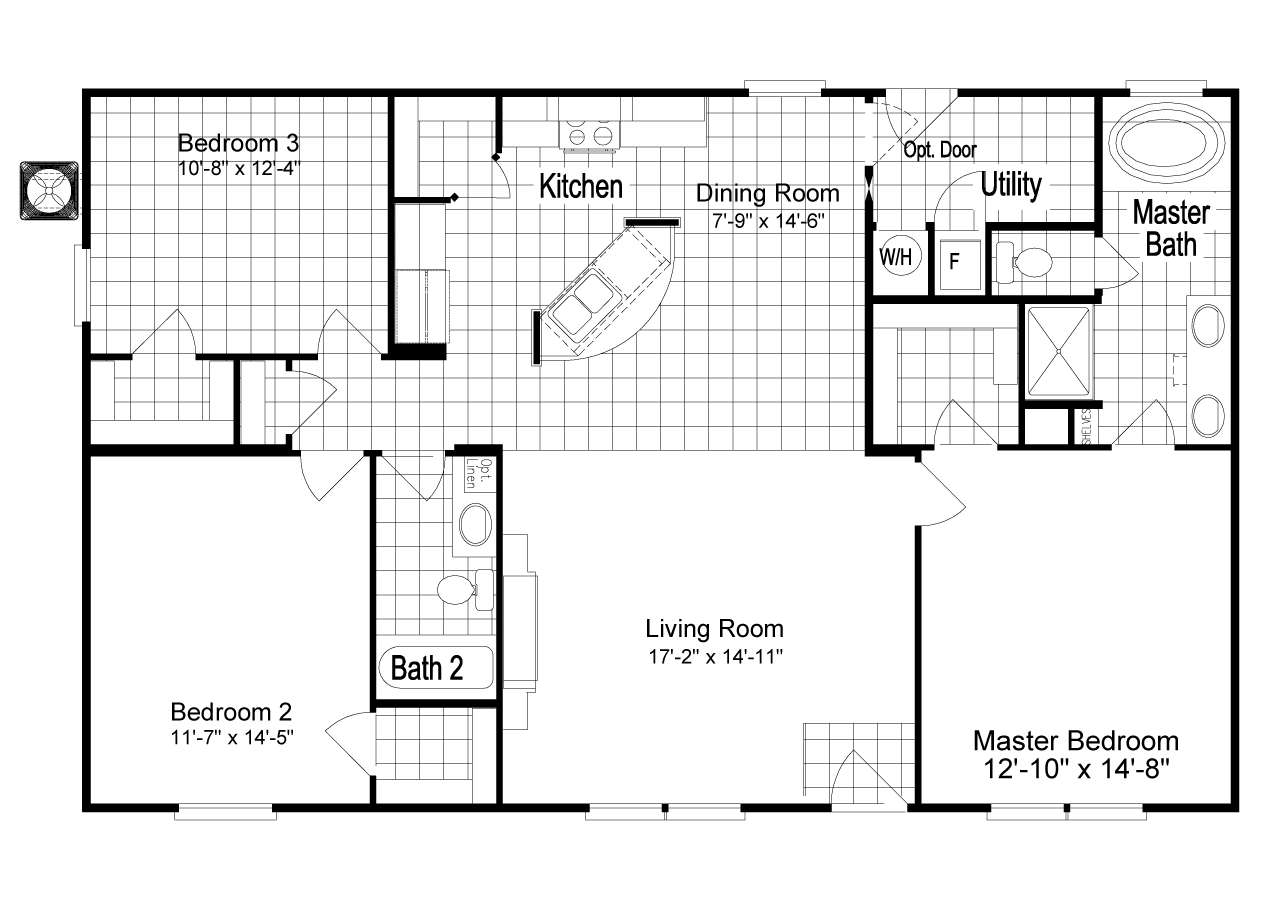 Jacobsen Manufactured Homes Floor Plans The Homeland Manufactured Home Is The Ultimate In Value