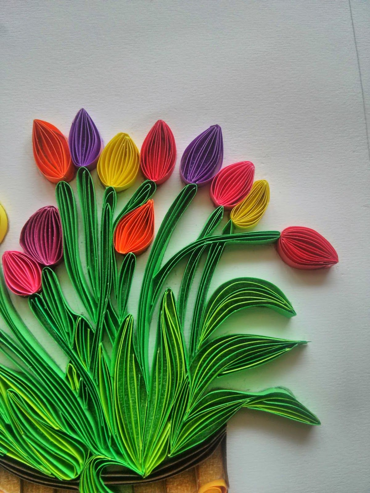 Technique of a quilling flower Fantasy with their own hands - a master class
