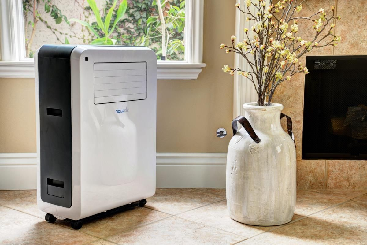 This Newair Portable Ac Offers Enough Cooling Power To Effectiely Cool Any Room In Th Portable Air Conditioner Vent Air Conditioner Air Conditioner With Heater