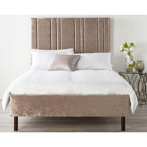 Catherine Lansfield Polsterbett Empire Bed Frame Upholstered
