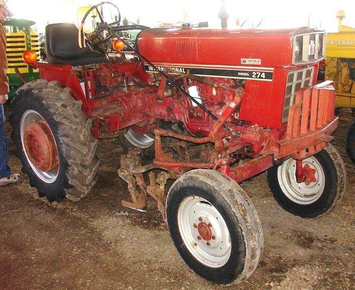 transmission international harvester ih 274 284 tractor workshop rh pinterest com International 284 Tractor Loader International Tractor Model 254