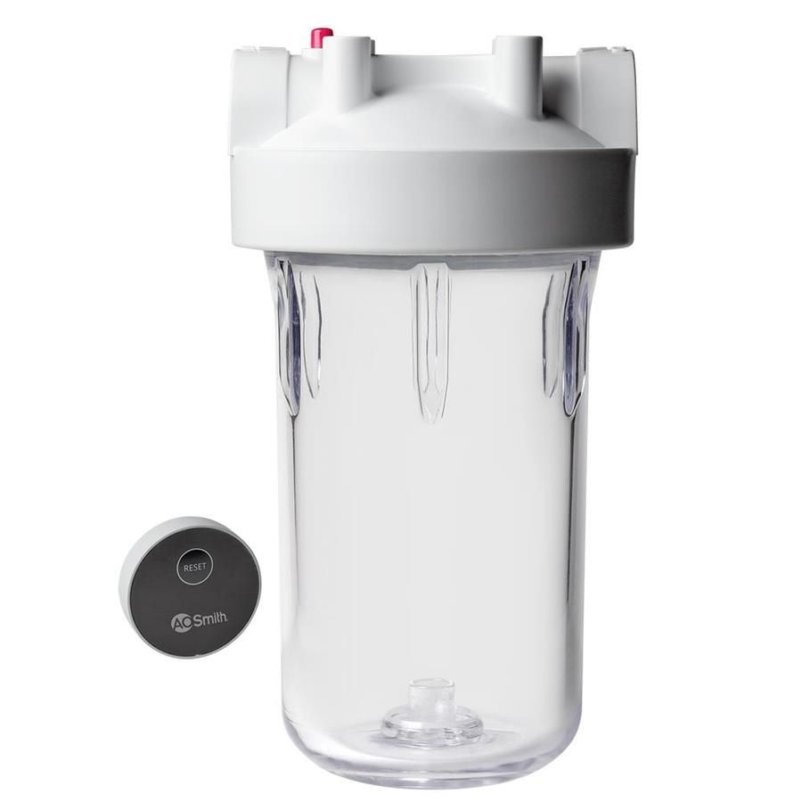 A O Smith Ao Wh Prel Single Stage 4 Gpm Mechanical Filtration Whole House Water Filtration System Lowes Com Whole House Water Filter Water Filtration System Water Filtration