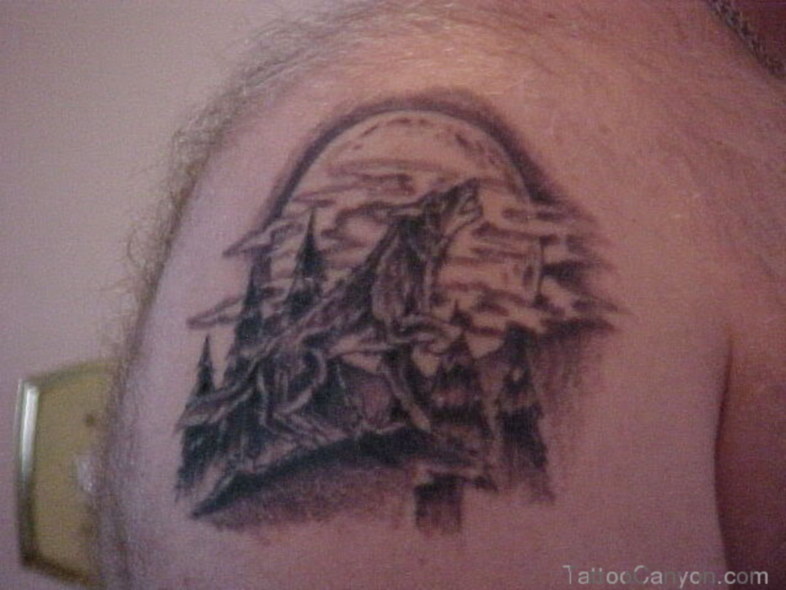 the howling wolf tribal tattoo meaning and ideas Tattoo