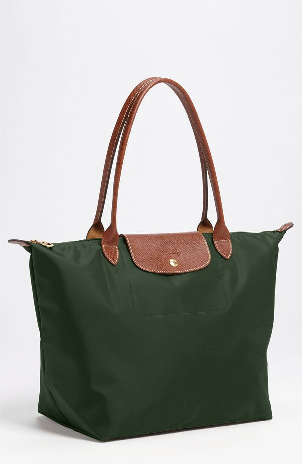 9f14dd458f37a Longchamp Le Pliage Large Tote in Fir  145