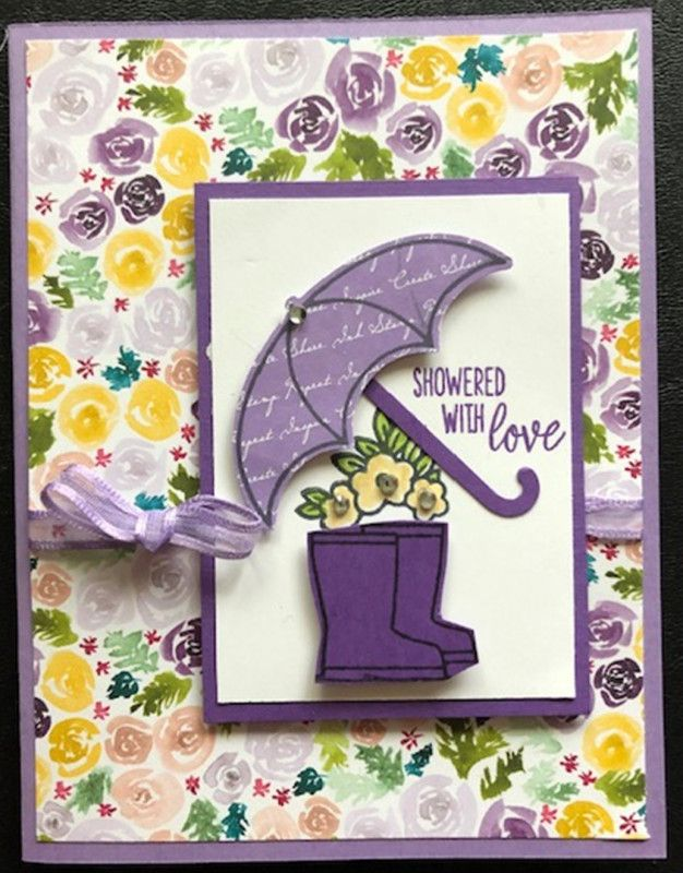 Showered with Love by CAR372 - Cards and Paper Crafts at Splitcoaststampers