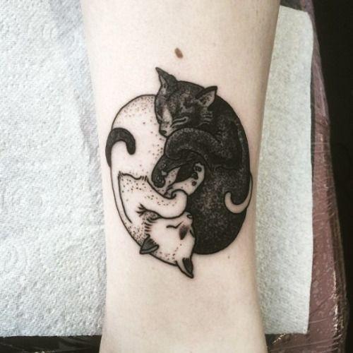 66 magnifiques tatouages de chats vus sur Pinterest - Chats Chats Chats (avec images)   Tatouage ...