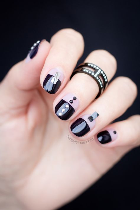 Chic Black Nail Design To Try This Week How To Provided
