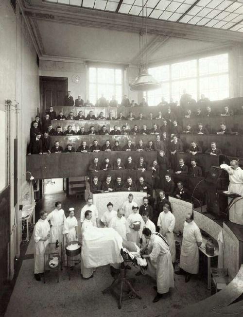 Sutured Infection Medical History Vintage Medical Hospital Pictures