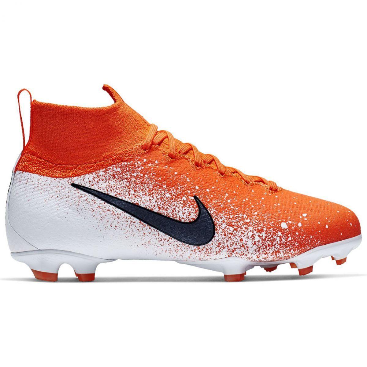 Buty Pilkarskie Nike Mercurial Superfly 6 Elite Fg Jr Ah7340 801 Czerwone Wielokolorowe Football Shoes Nike Nike Shoes
