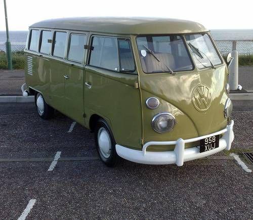 edba27c7b9 1957 VW Kombi Van. Supplied new to the British Army.